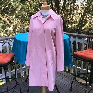 Ralph Lauren top/trench coat in baby pink